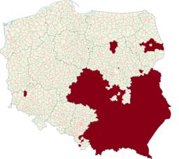 LGBT Free Zones Poland 2020