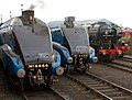LNER lineup, Barrowhill, 13 April 2012 (3).jpg