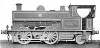 LNWR 0-4-2T saddle tank locomotive 317 (Howden, Boys' Book of Locomotives, 1907).jpg