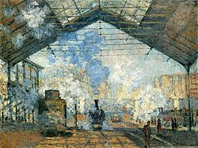 Image illustrative de l'article La Gare Saint-Lazare