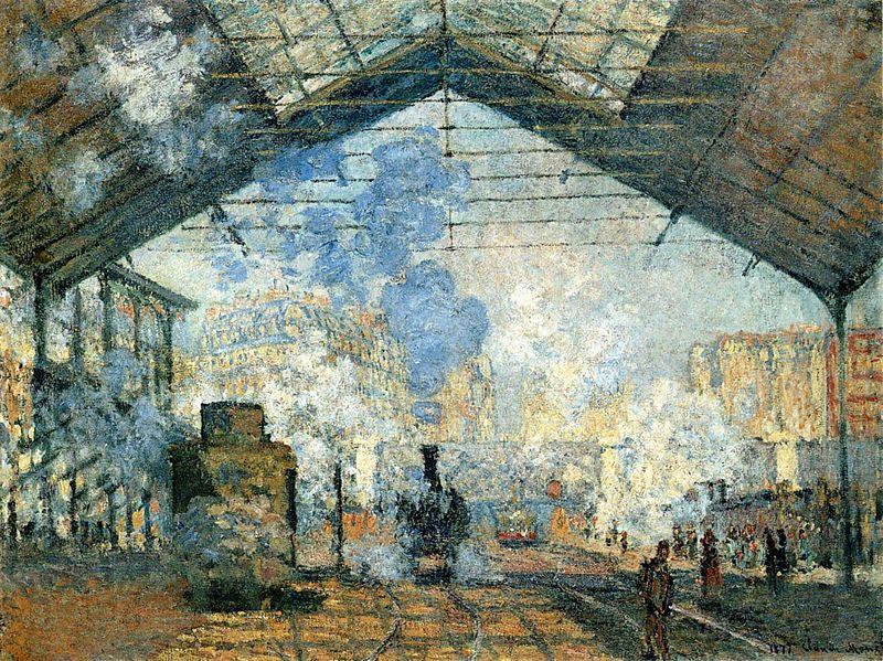 Fichier:La Gare Saint-Lazare.jpg