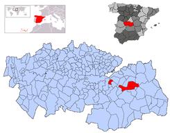 Situación dentro de la provincia.