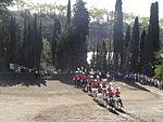 La Mercè - Hípica La Foixarda - Exhibició de la unitat muntada de la Guardia Urbana 01.JPG
