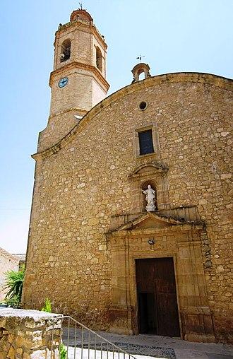 La Palma d'Ebre - Church of Mother of God of the Assumption