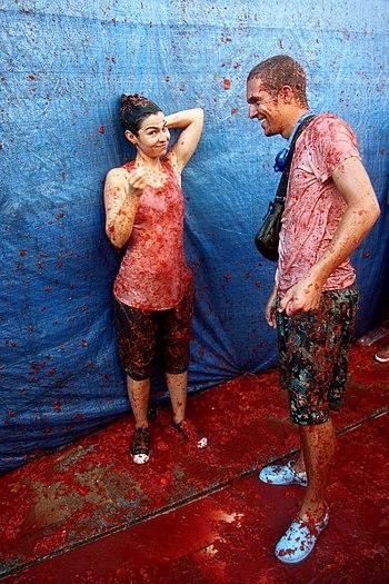 La Tomatina (25.08.2010) - Spain, Buñol 16