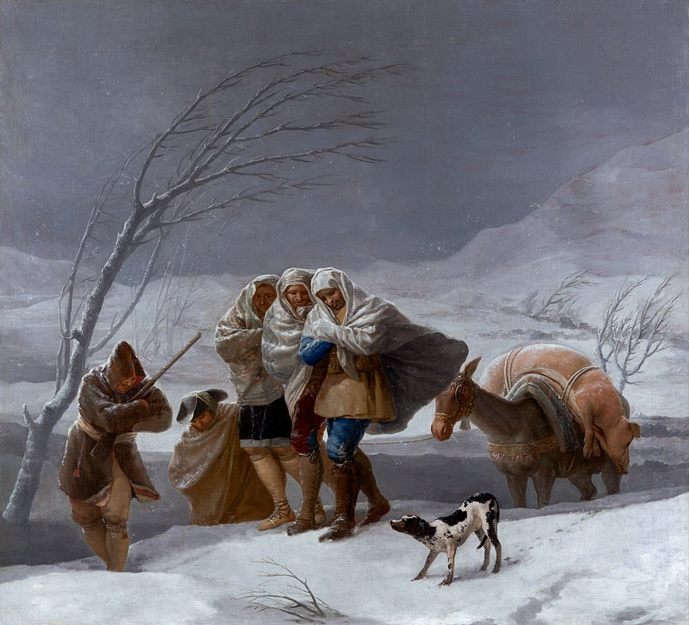 The Snowstorm (Winter)