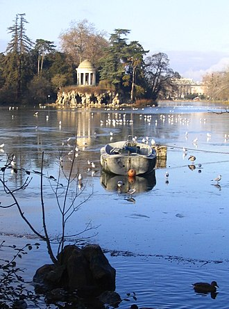 Lac Daumesnil - Image: Lac Daumesnil 1
