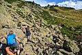Lac Blanc hike - a rocky start (10975690154).jpg