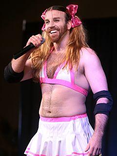 Ladybeard Australian wrestler, stuntman, metal vocalist