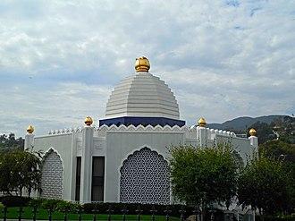 Self-Realization Fellowship Lake Shrine - Main Temple of the Lake Shrine