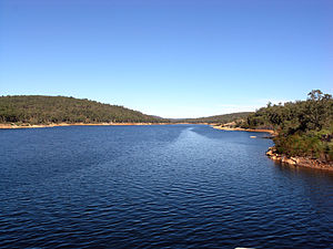 C. Y. O'Connor - Lake O'Connor, Mundaring Weir