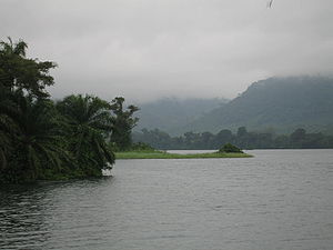 Geography of Ghana - Lake Volta