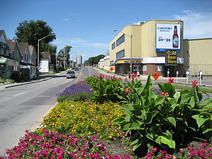 Burlington Street (Hamilton, Ontario) - Lakeport Brewery