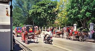 Lampang - Horse carriages in Lampang