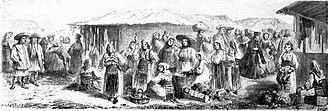 Banat - Romanians in Timișoara in 1860