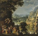 Landscape with the flight into Egypt (David Teniers d.ä.) - Nationalmuseum - 23919.tif
