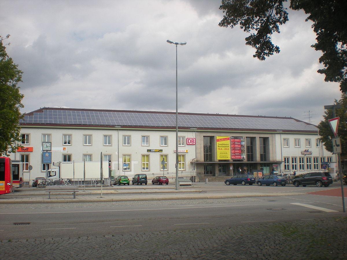 landshut bay hauptbahnhof wikipedia. Black Bedroom Furniture Sets. Home Design Ideas