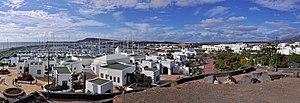 Yaiza (municipality) - View of Playa Blanca, Yaiza