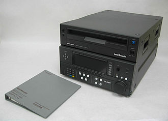 LaserDisc - A Pioneer LaserRecorder that can be connected to a computer or a video source