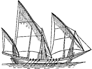 Xebec type of Mediterranean sailing ship that was used mostly for trading
