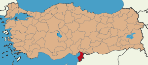 Latrans-Turkey location Antakya.svg