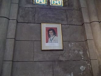 Laura Vicuña - A traditional depiction of Laura Vicuña.