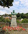 Lausanne, Château Saint-Maire, hommage au colonel Veillon.jpg