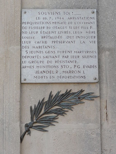 Lay-Saint-Remy (Meurthe-et-M.) Plaque souviens-toi...