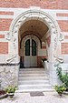 Le Vesinet villa Berthe La Hublotiere Guimard porche porte.jpg