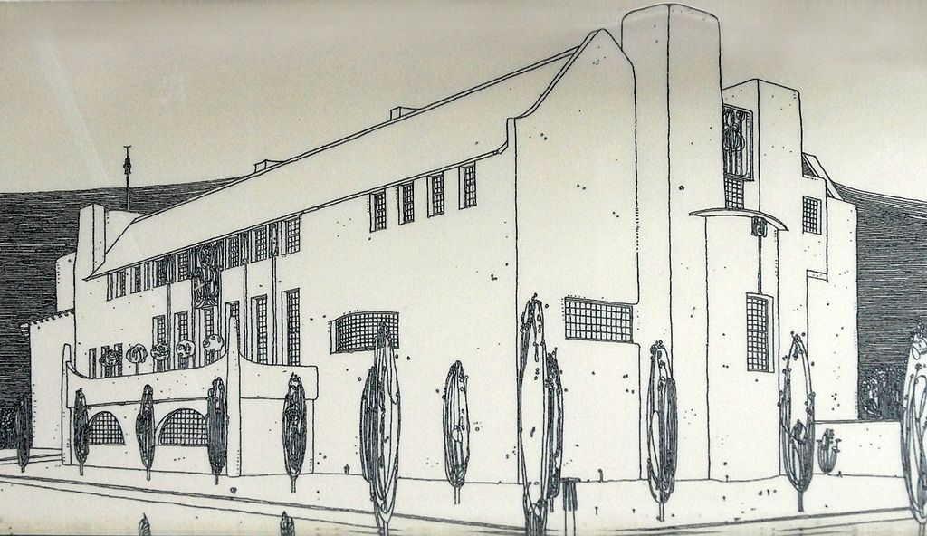 Le dessin de Mackintosh de la
