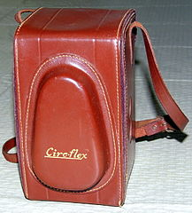 Leather Case For Vintage Ciro Ciro-flex TLR (Alphax), Alphax 1-200 Shutter, Wollensak 85m f3.5, Made In USA (13380480804).jpg