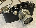 Leica III F 1933 with matching nickel Summar 5cm f-2 (32603792500).jpg