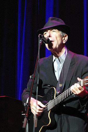 English: Leonard Cohen
