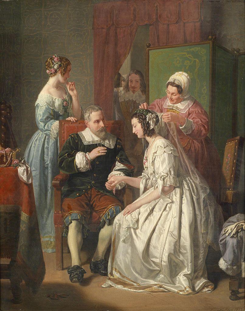 File:Leopold Löffler-Radymno Die Braut.jpg - Wikimedia Commons