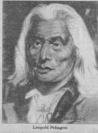 Potawatomi - Leopold Pokagon