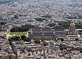 Les Invalides from the Eiffel Tower, Paris June 2014 002.jpg