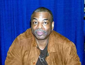 English: Photo of actor LeVar Burton taken at ...