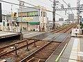 Level crossing from Hanshin Mukogawa IMG 3426r R 20150705.JPG