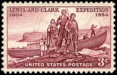 Lewis and Clark 1954 Issue-3c