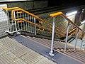 Leytonstone High Road railway station platform entrance steps 03.jpg