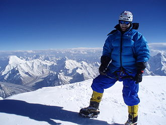 Karakoram - View from the top of K2