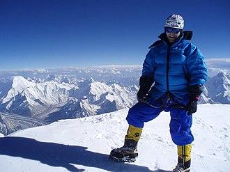 Karakoram - View from the top of K2