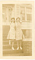 Libby and sister off to volunteer at the Barnett Hospital in Paterson, New Jersey.jpg