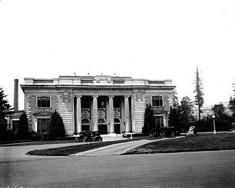 University of Washington Libraries - University of Washington library in 1922