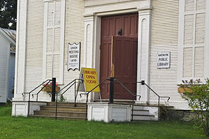 Huntington, Vermont - The small size of the town means that the library has limited hours of operation.