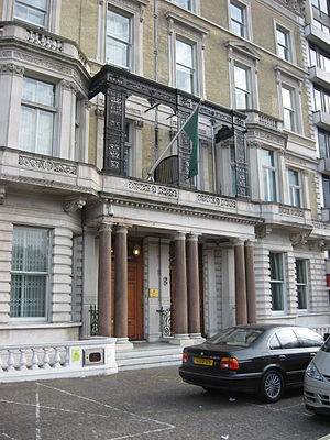 Embassy of Libya, London - Image: Libyan Peoples Bureau London