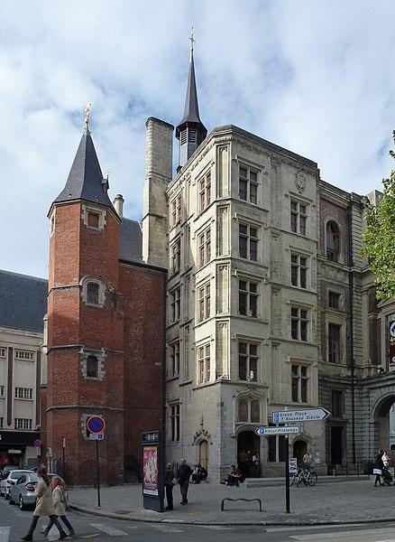 Le Palais Rihour Lille Nord (département français)