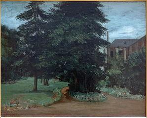 Le jardin de l'abbaye de Loos-lez-Lille