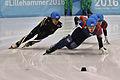Lillehammer 2016 - Short track 1000m - Men Semifinals - Daeheon Hwang, Shaoang Liu, Kazuki Yoshinaga and Kyunghwan Hong 4.jpg
