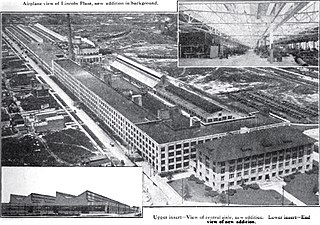 Lincoln Motor Company Plant United States historic place